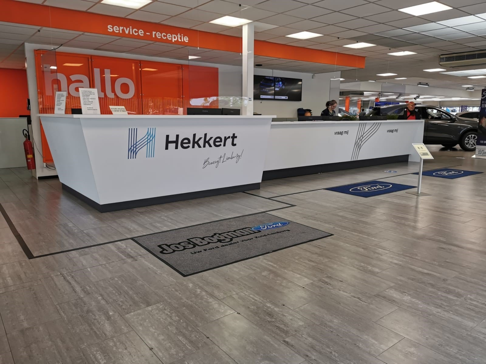 Hekkert Autogroep Blueprint Visuals interieurfolie